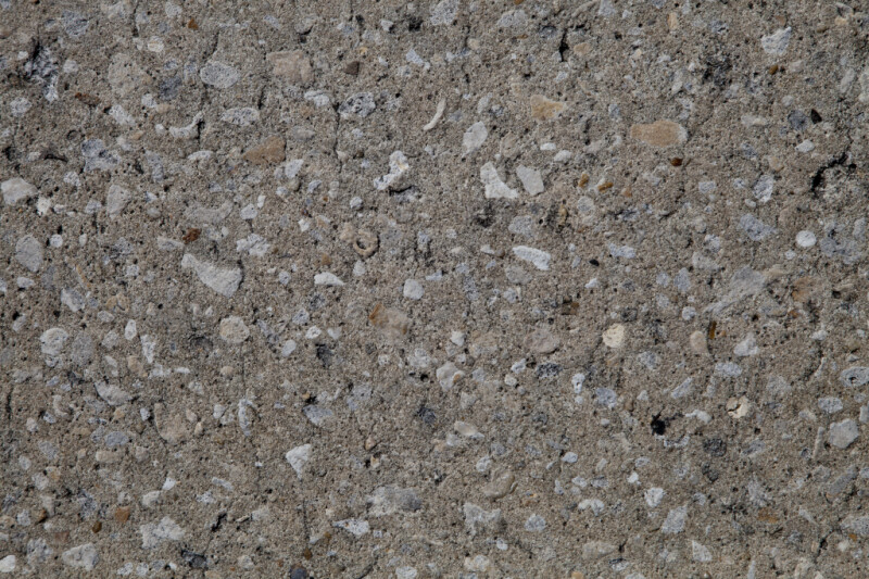 Concrete with Large Aggregate