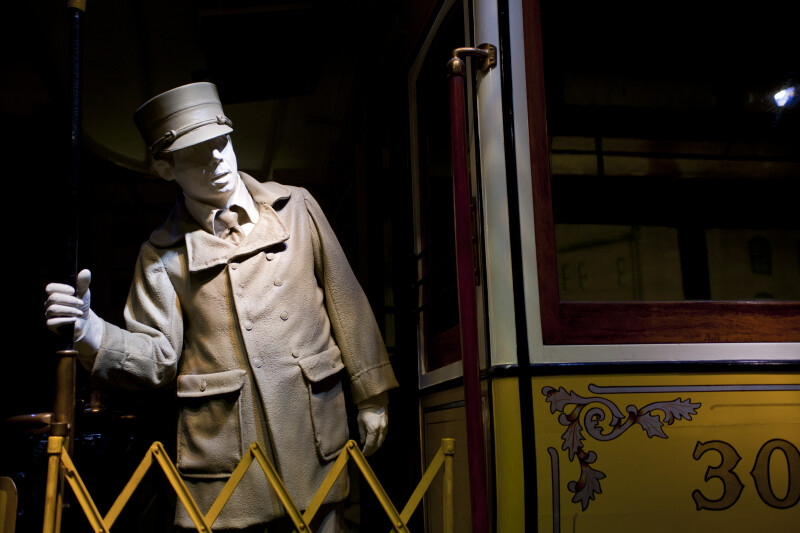 Conductor on Streetcar