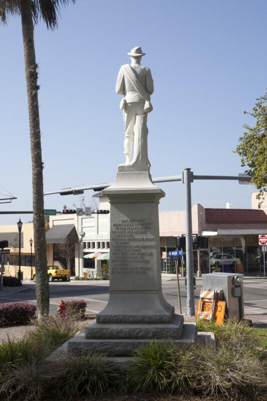 Confederate Monument Rear