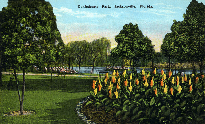 Confederate Park in Jacksonville, Florida