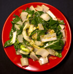 Cooked Bok Choy
