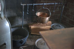 Cooking Pots by the Fireplace
