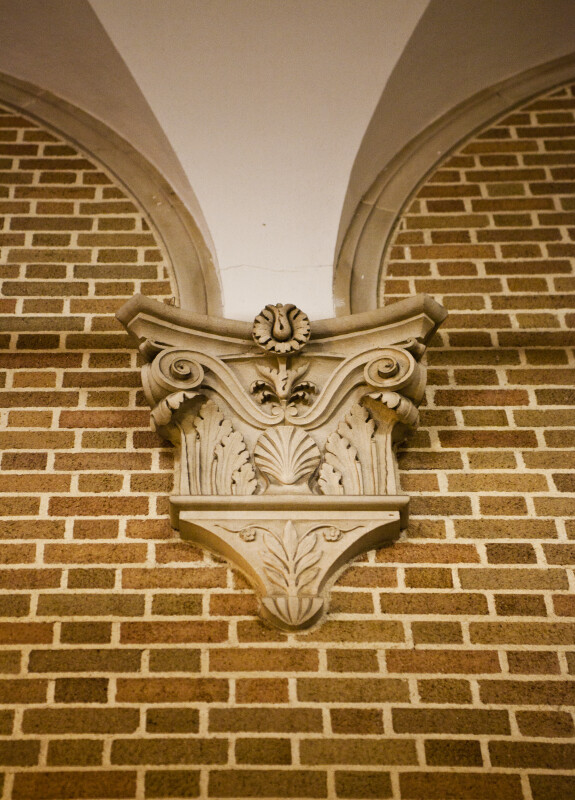 Corbel on Brick Wall