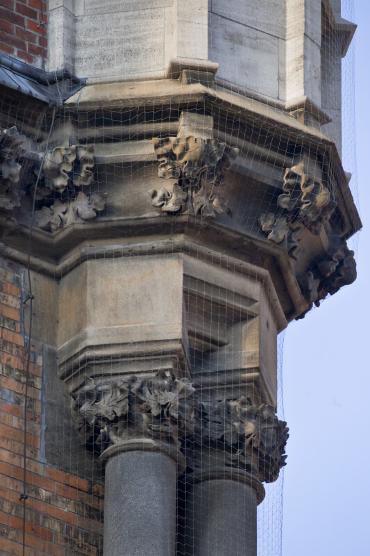 Corbel with Floral Decorations at New Town Hall