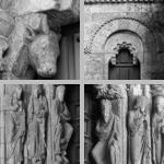 Corbels beneath tympana photographs