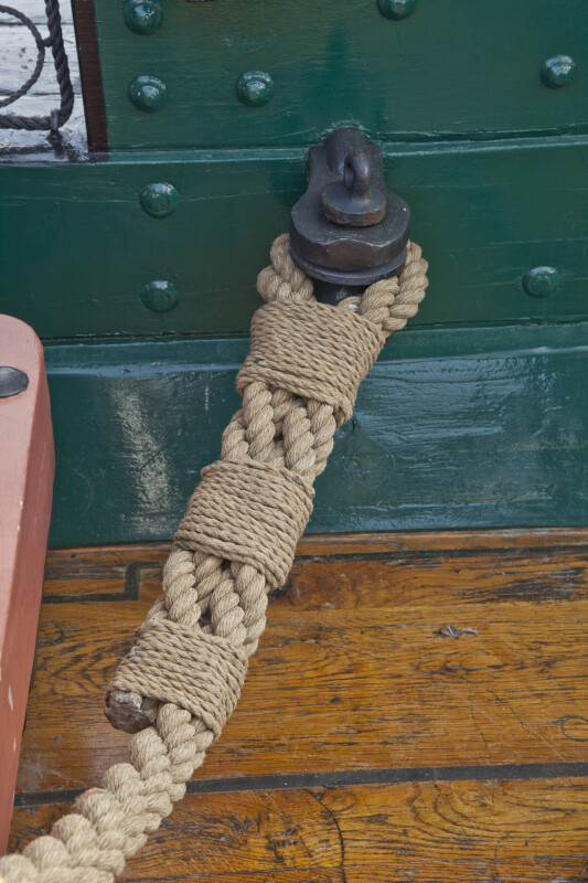 Cordage to Keep the Cannons in Place