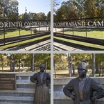 Corinth Contraband Camp photographs