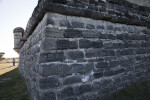 Corner Edge of Fort Matanzas, Close up