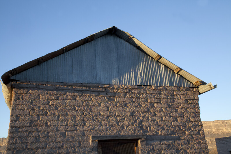 Corrugated Metal of the Old Castolon Store