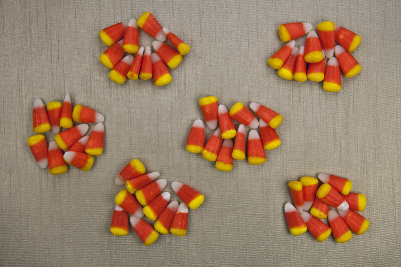 Counting Candy Corn by Tens