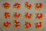 Counting Jumbled Candy Corn by Fives