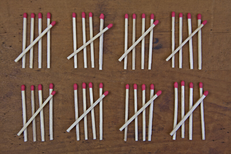 Counting Matches by Fives