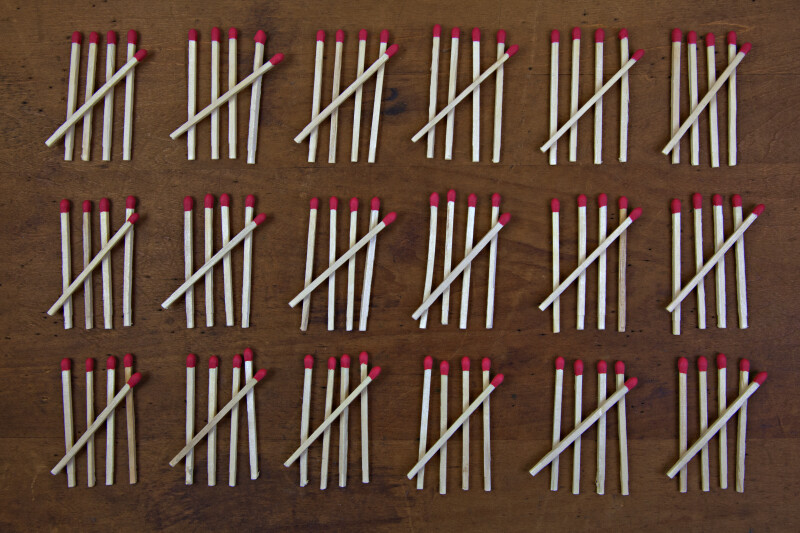 Counting More Matches by Fives