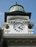 Courthouse Clock Face