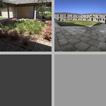 Courtyard photographs