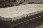 Cracked Keystone Slab at Windley Key Fossil Reef Geological State Park