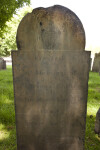 Cross and Willow Tablet Headstone