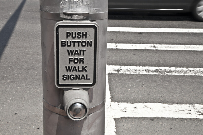 Cross Walk Button