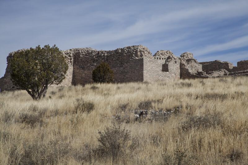 Crumbling Wall at Gran Quivira
