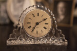 Crystal Clock Showing 7:10