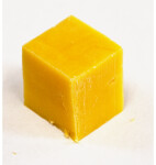 Cube of Cheddar Cheese