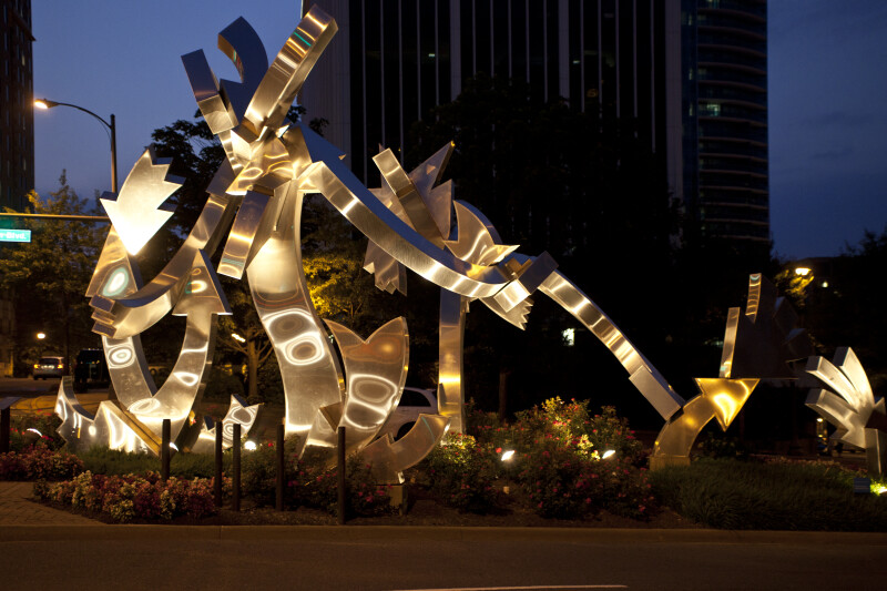 Cupid's Arrow Sculpture
