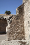 Curved Exterior Wall at Mission Concepción