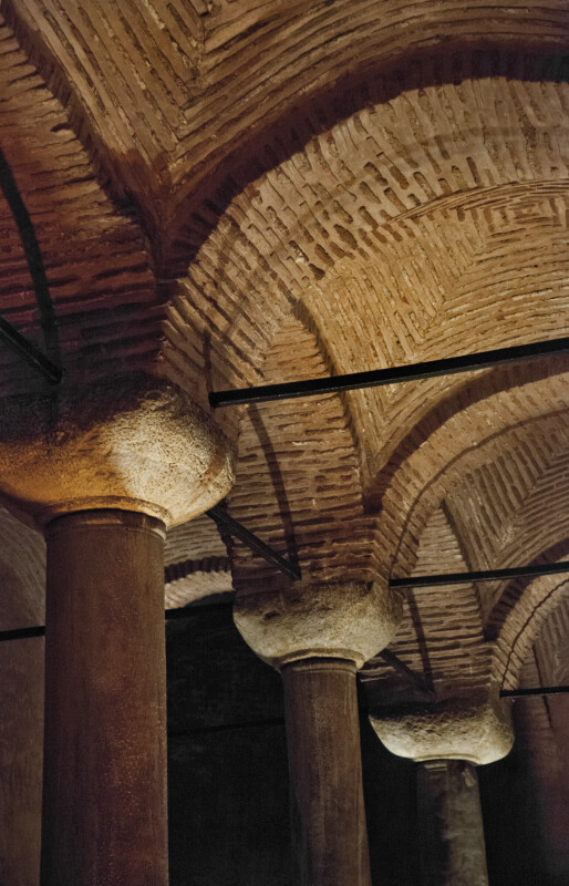 Curved Roof at the Basilica Cistern