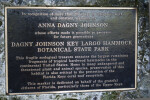 Dagny Johnson Key Largo Hammock Botanical State Park Marker