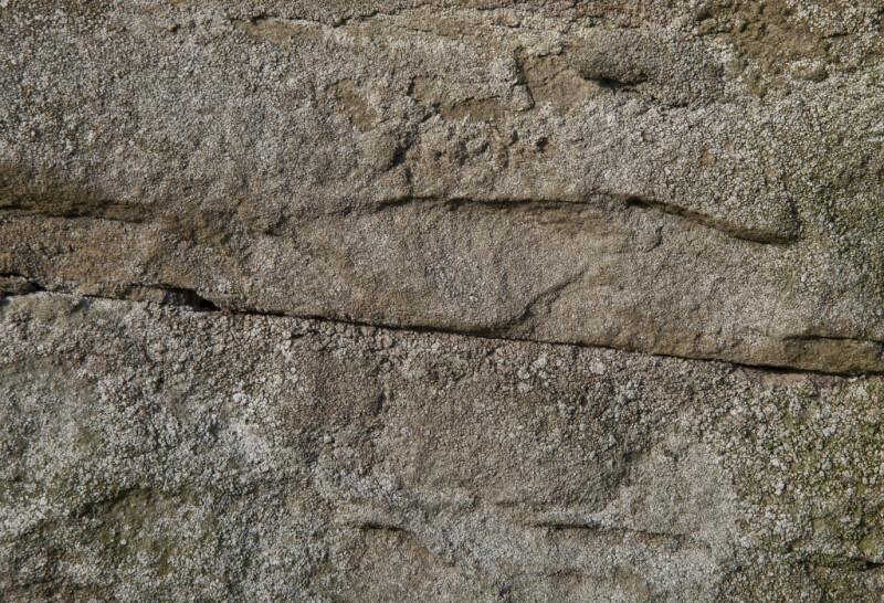 Damp sandstone