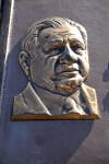 Dante Fascell's Bronze Head