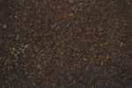 Dark Cement Floor with Rust-Colored Aggregate