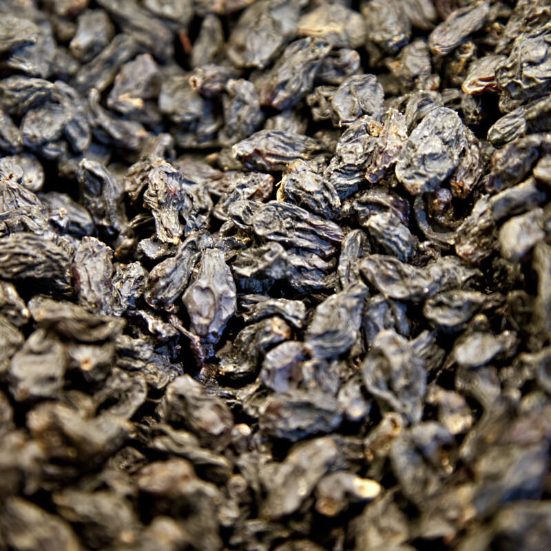 Dark Raisins at the Spice Bazaar in Istanbul, Turkey