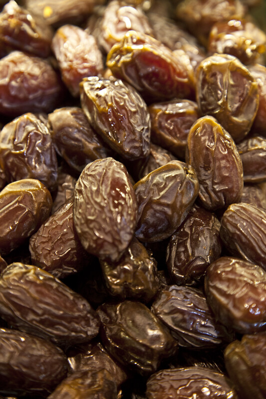 Dates at the Spice Bazaar in Istanbul, Turkey