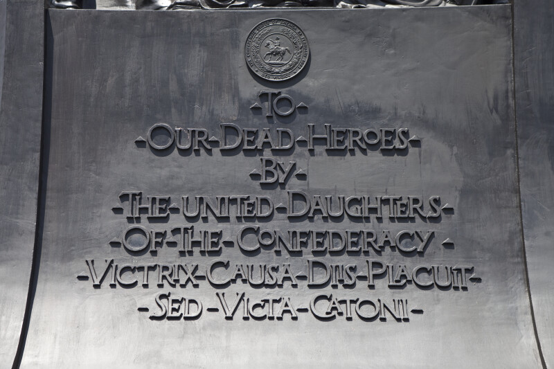 Daughters of the Confederacy Dedication