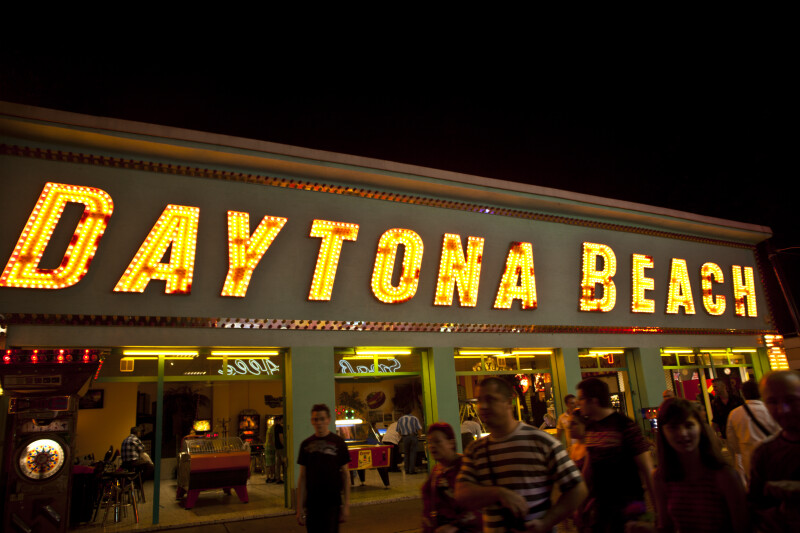 Daytona Beach Arcade at the Prater in Vienna