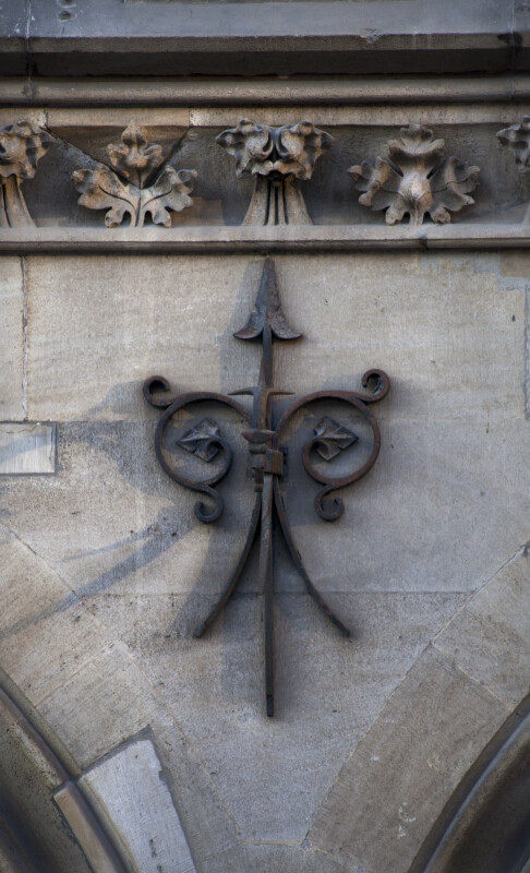 Decorative Arrow at New Town Hall