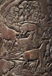 Deer and Manatees in Bronze