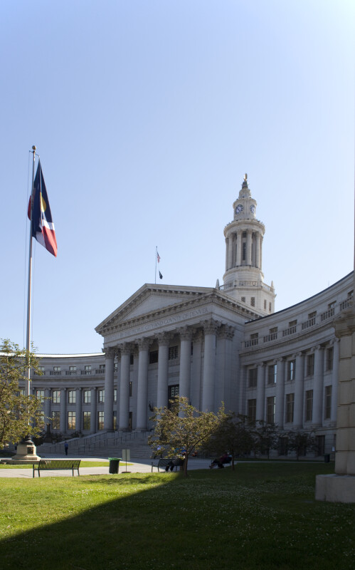 Denver City Hall Façade