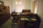 Desks at Old State Capitol