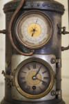 Detail of Barometer/Clock Apparatus