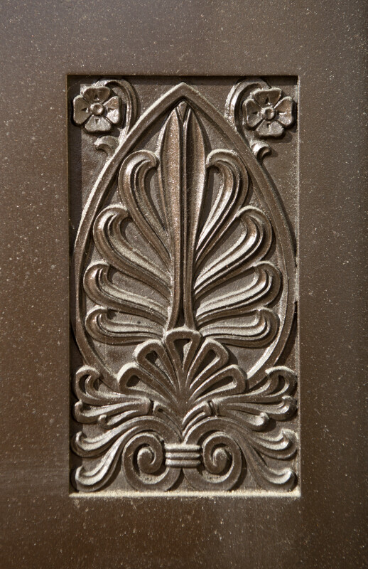 Detail of Design on Door at Soliders and Sailors' Memorial Hall