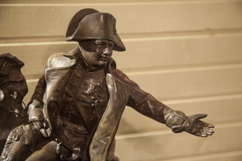 Detail of Napoleon Statue
