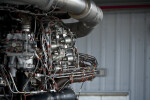 Detail of Space Shuttle Engine