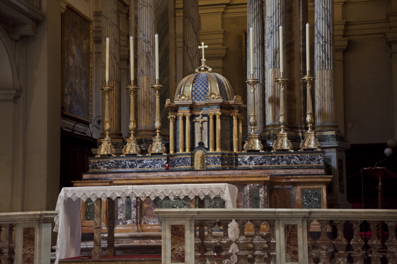 Detail of the Materials of the High Altar of Roman Titular Church