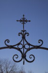 Detail of the Metalwork at Mission Concepción