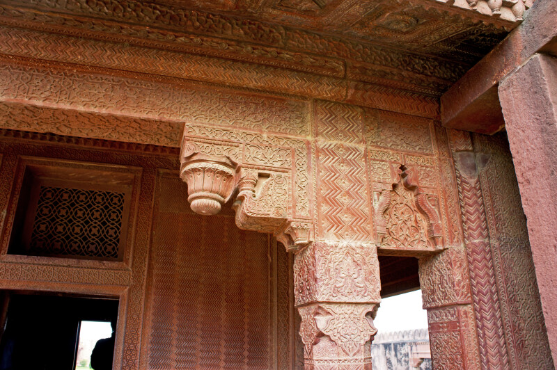 Detailed Designs on the Turkish Sultana's House