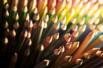 Diagonal Pencils in Light