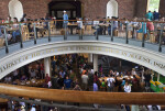Dining Area of the Quincy Market