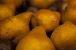Display of Bosc Pears